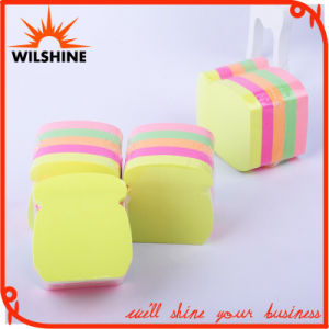 Custom Fluorescent Sticky Note in Different Shaped Paper Cube (SN010) pictures & photos