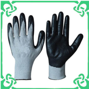 Nitrile Coated Cut Resistant Gloves in CE
