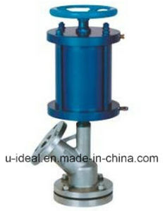 Pneumatic Tank Bottom Valve Discharged Sediment pictures & photos