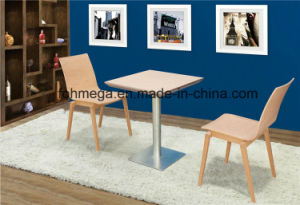 Wood Indoor Two Seater Chinese Restaurant Furniture (FOH-BCA86) pictures & photos