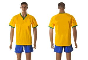 Brazil′s National Soccer Team Jersey in The 2014 World Cup