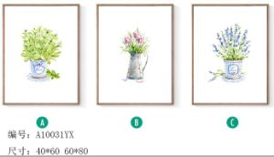 Decorative Modern New Designs Flowers of Painting, Canvas Painting pictures & photos