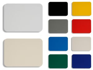 Solid Color 3mm 4mm 5mm 6mm PE PVDF Aluminum Composite Panel pictures & photos