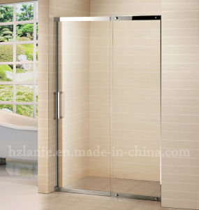 European Design Stainless Steel Glass Shower Door (LTS-026) pictures & photos