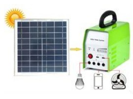 20W Solar Home System with Radio and Mini Fan (ODA20-12Q) pictures & photos