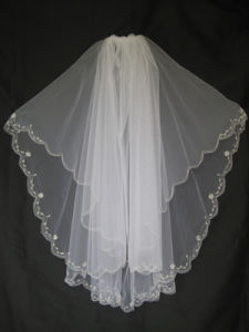 Embroidery Veil Ev412
