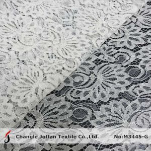 Textile Tricot Lace Fabric Wholesale (M3445-G) pictures & photos