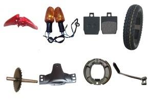 Cg125 Motorcycle Spare Parts Rear Disk Brake Pad