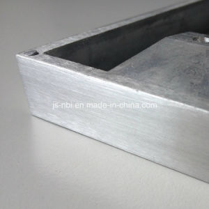 Customized Aluminum Bracket Castings Made From 380 Alloy Material with Clear Chromate pictures & photos