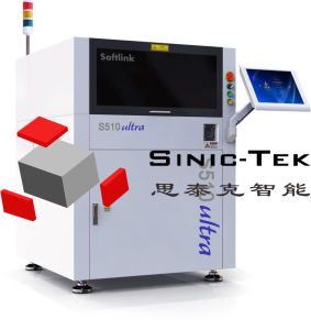 3D Inline Fiber Laser Marking Machine Laser Engraving Machine for PCB pictures & photos