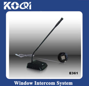 Two-Way Service of Window Intercom Device pictures & photos