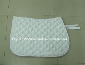 White Cotton Horse Saddle Pad pictures & photos