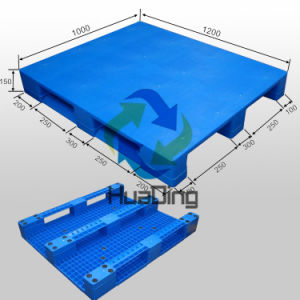 Heavy Duty Plastic Pallet in Size of 1200X1000 mm pictures & photos