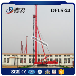 20m Deep Dfls-20 Construction Hydraulic Auger Bored Pile Driver Drilling Rig for Sale pictures & photos