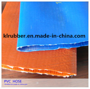 Heavy Duty PVC Layflat Water Discharge Hose pictures & photos