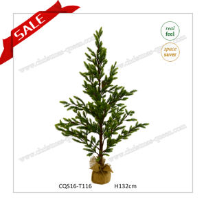 H52inch Plastic Promotion Price Artificial Flower Craft Christmas Tree pictures & photos