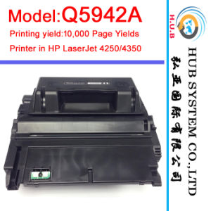 Brand New Original Toner Cartridge for HP Q5942A (LaserJet 4250/4350) pictures & photos