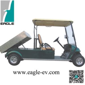 Utility Vehicle, 2 Seat, with Hydraulic Dumper, Eg2048zt2, Pure Electric, with Brush Guard, Plastic Top pictures & photos