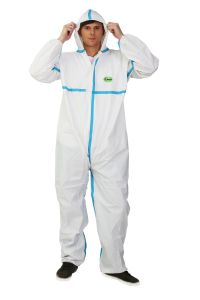Type 4/5/6 Disposabe Microporous Chemical Coverall