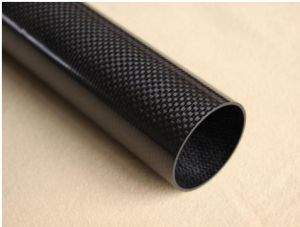 Super Strength 3k 100% Carbon Fiber Tube in Carbon pictures & photos
