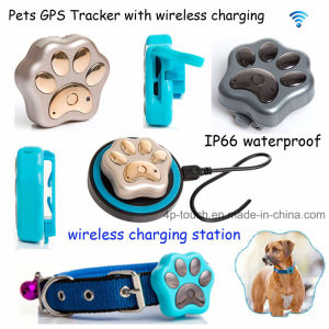 2017 New Waterproof GPS Pets Tracker Device with Wireless Charging pictures & photos