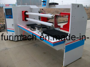CE Standard Adhesive Tape Cutting Machine/Adhesive Roll Cutter for Sale pictures & photos