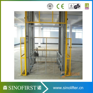 500kg Hydraulic Vertical Guide Rail Cargo Lift pictures & photos