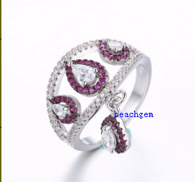 New Fashion Cubic Zirconia 925 Sterling Ring (MR40023) pictures & photos