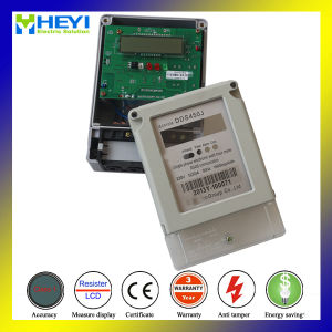 Digital Electricity Meter for Smart Meter Electricity 220V 100A Stop Reading Data pictures & photos