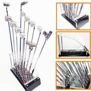 High Quality Golf Club Camber Acrylic Display Stand pictures & photos