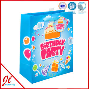 Fancy Birthday Gift Bags with Hologram Film for Baby Birthday pictures & photos