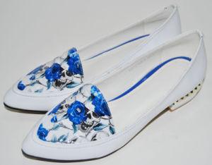 Fashion Flat Sole Lady Dress Shoes