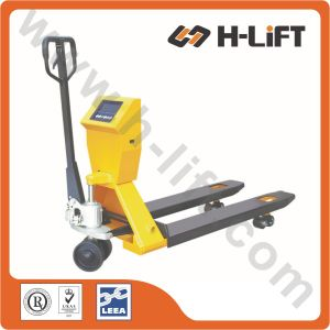 Hydraulic Hand Pallet Truck/ Forklift with Scale (PT-BFC) pictures & photos