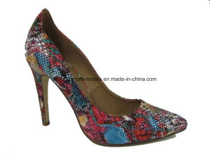 Hot Sale Lady Fashion High Heel Dress Shoes for Party pictures & photos