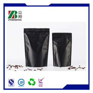 Aluminum Foil Coffee Zipper Bag Stand up Zipper Coffee Pouch pictures & photos