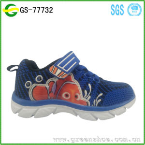 Athletic Footwear Flyknit Upper Kids Light Shoes pictures & photos