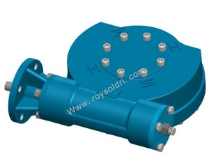 RW3 Electric Operated Worm Gearbox pictures & photos