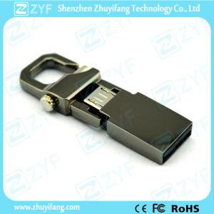 Unique Keychain Design Metal 16GB OTG USB (ZYF1604) pictures & photos