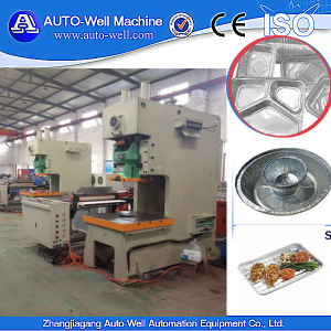 Semi-Auto Aluminum Foil Dishes Production Machine pictures & photos