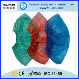 Disposable Plastic PE/CPE Shoe Cover pictures & photos