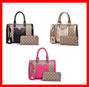 MOQ 5 PCS 2 in 1 Ladies Handbag Set Manufacturer From China