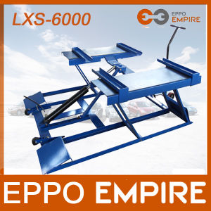 High Quality Safe Removable Portable Hydraulic Scissor Car Lift pictures & photos