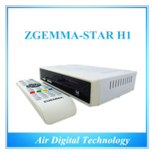 Zgemma-Star H1 Combo DVB-S2 DVB-C Satellite Receiver Stock pictures & photos