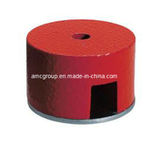 Pot AlNiCo with Red Paint Magnet pictures & photos