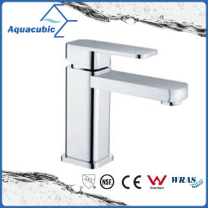 Modern Style Single Handle Brass Basin Faucet (AF9180-6) pictures & photos