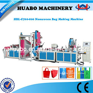 Non Woven Fabric Bag Making Machine (HBL-C 600/700/800) pictures & photos