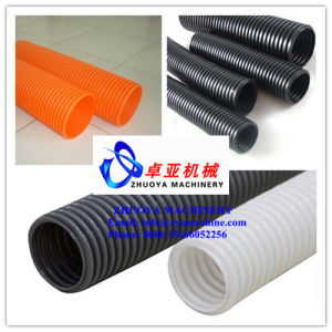 PVC Single Wall Corrugated Pipe/Tube Production Line/Extrusion Machine pictures & photos