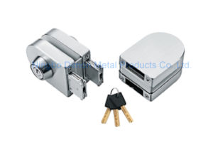 Dimon Sliding Glass Door Lock Double Door Double Cylinder Central Lock (DM-DS 65-6A) pictures & photos