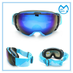 Anti Fog Anti Impact Protective Safety Glasses Ski Snow Goggles pictures & photos