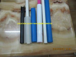Stable Performance High Output ABS Profile Plastic Extrusion Machine pictures & photos
